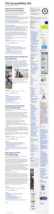 Accessible Techcomm WordPress sample page