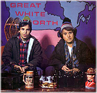Bob and Doug McKenzie, hosers from the Great White North