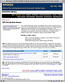 NPOESS Electronic Library text-only website image