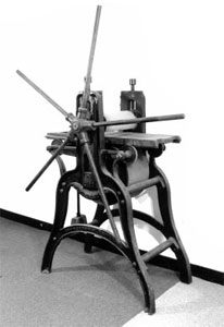 1890s etching press