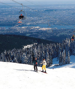 Grouse Mountain Ski Lift